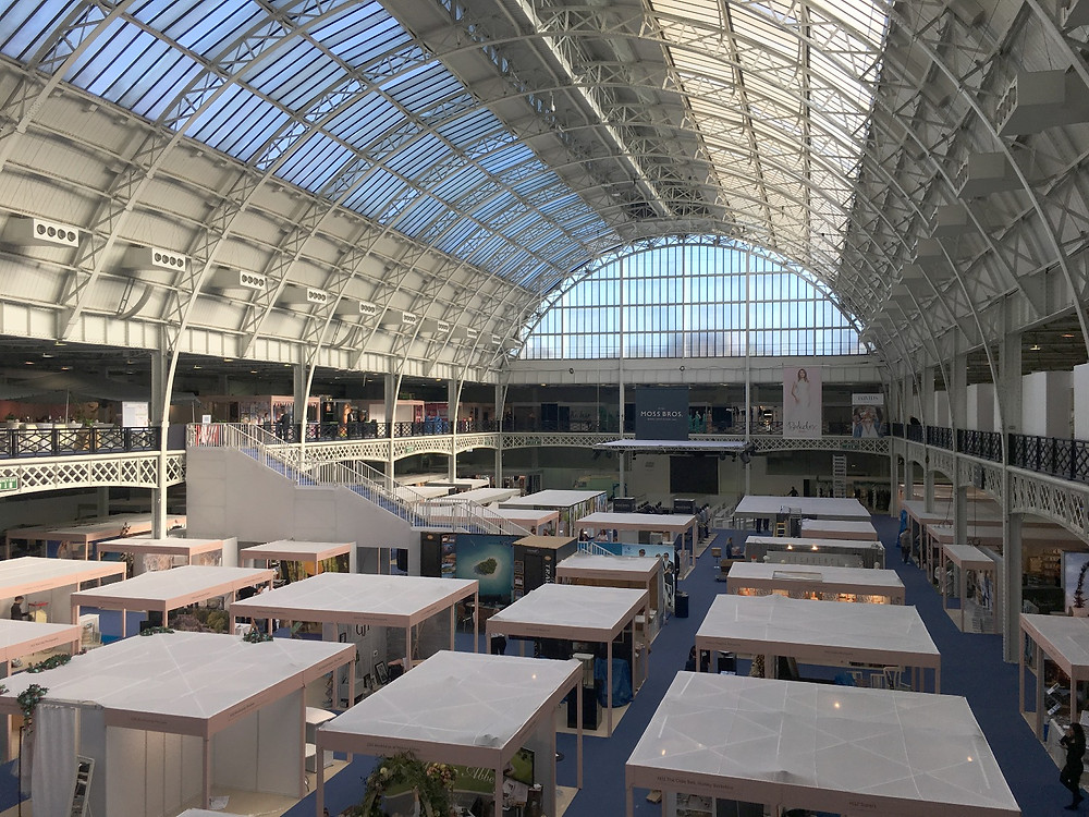 inside the London Olympia National Wedding Show