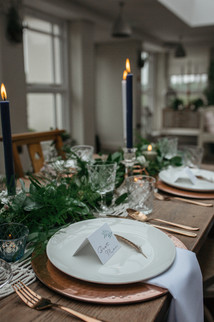 copper wedding table ideas