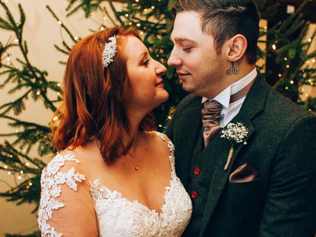Laura & Karne's Christmas Wedding: Crockwell Farm Wedding Venue