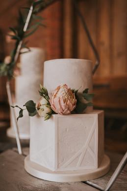 protea cake flowers