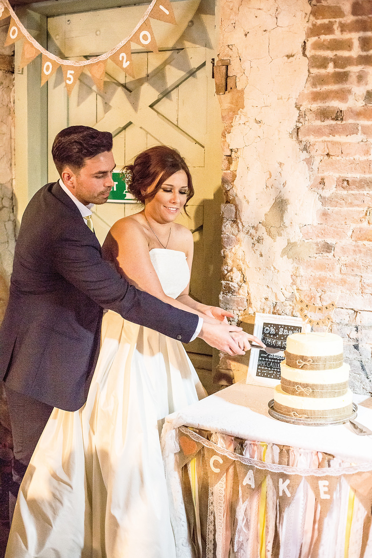 rustic hessian wedding barn leicester