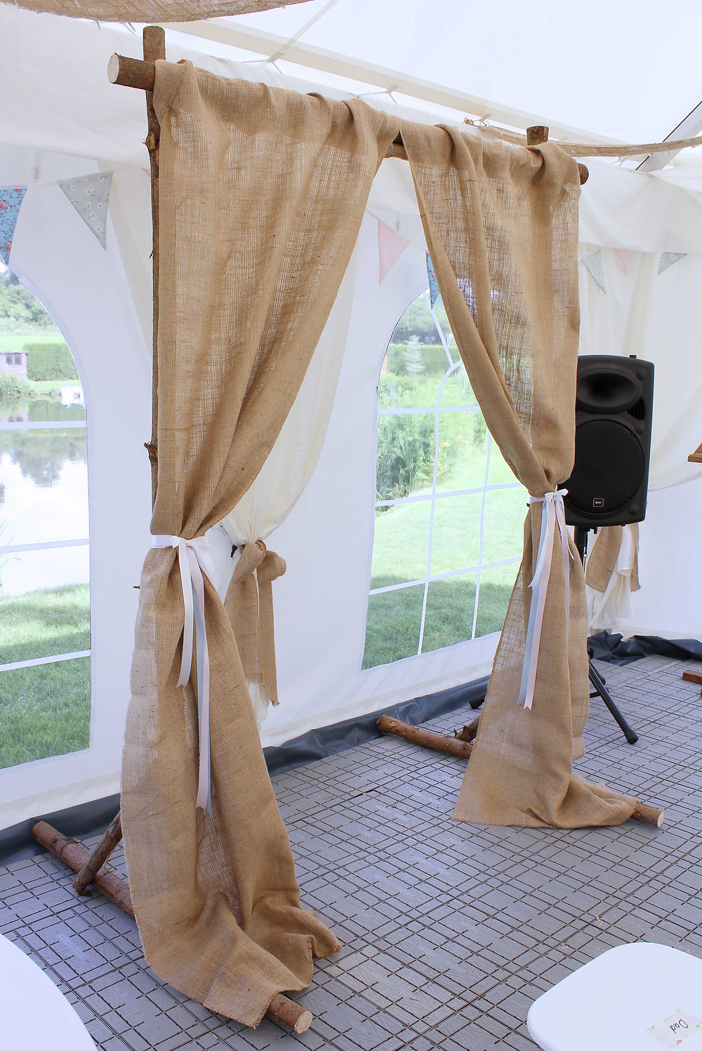 Rustic Wedding Archway Hire Leicester
