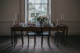 aswarby rectory wedding breakfast room