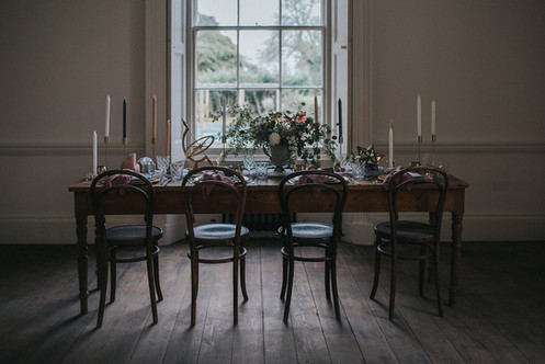 aswarby rectory wedding breakfast room