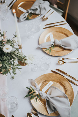 gold cahrger plates to hire for weddings and events