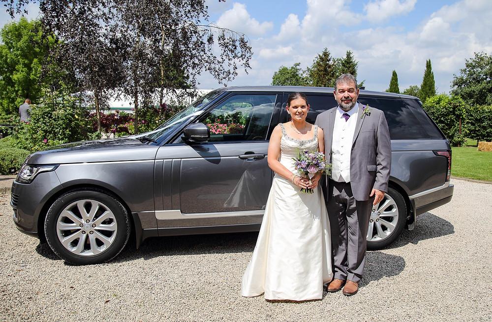 range rover wedding car leicester