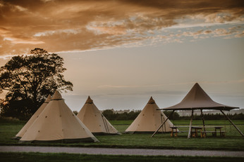 Sami tipi glamping tent hire