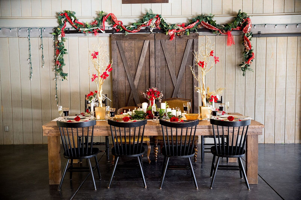 Rustic Christmas Wedding inspo