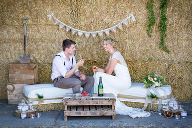 rustic barn wedding midlands