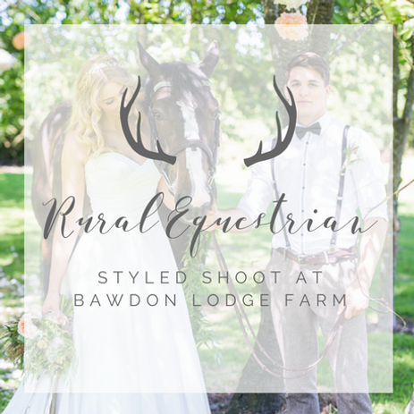 Equestrian Horse Wedding Styling Photo