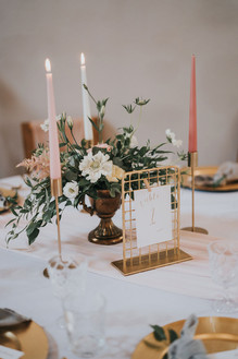 bramble sky table number holder wire mesh