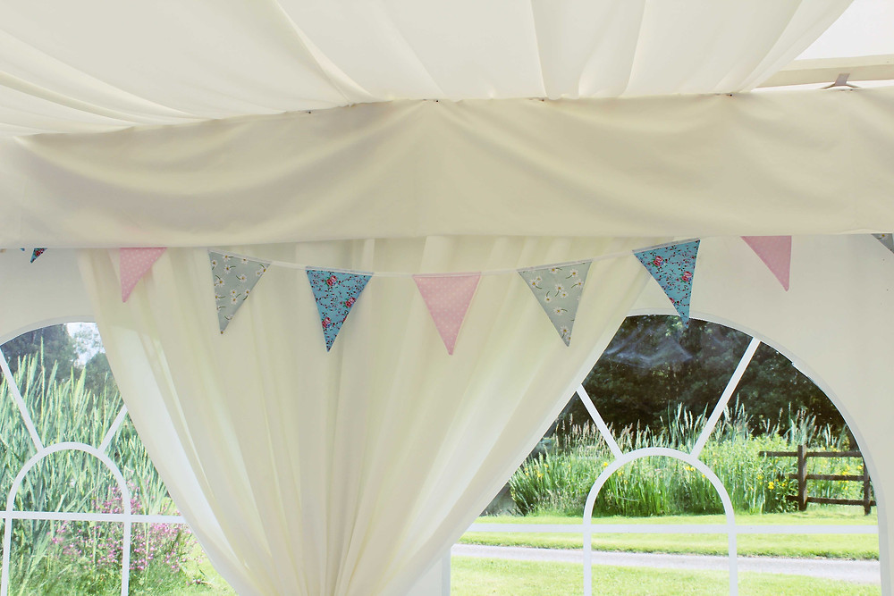 Pastel Floral Bunting Hire