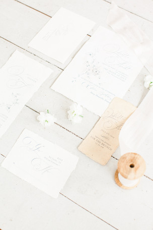 wedding flat lay kate cullen styling