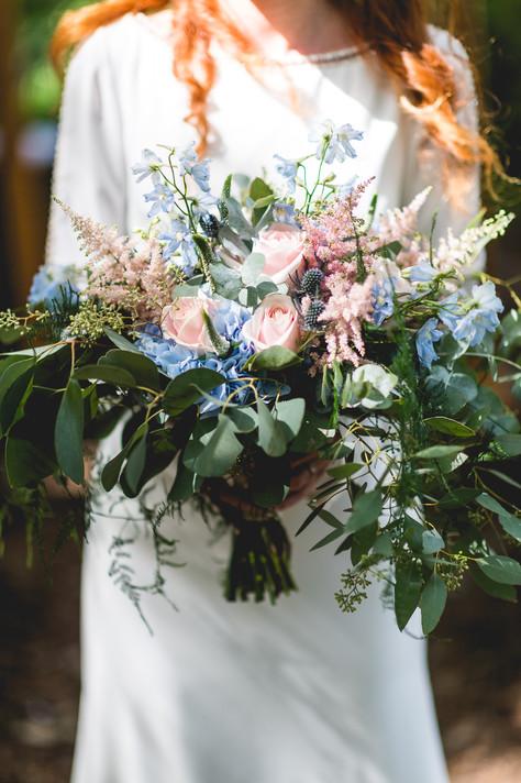 Hothorpe Hall Woodlands Wedding flowers