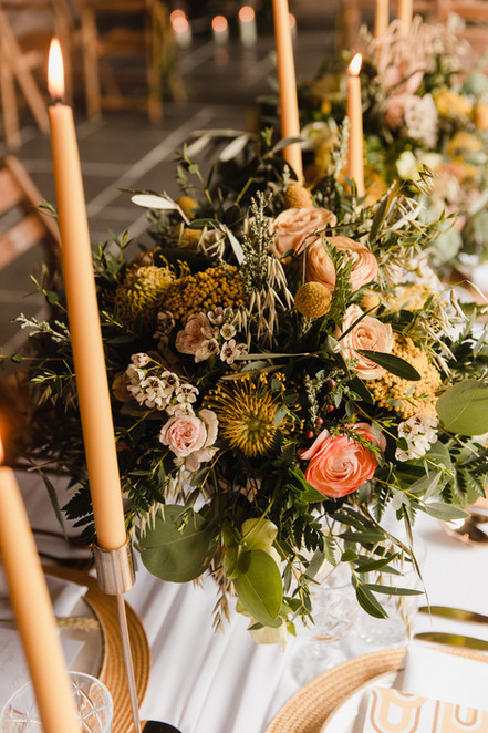 avant garden wedding flowers