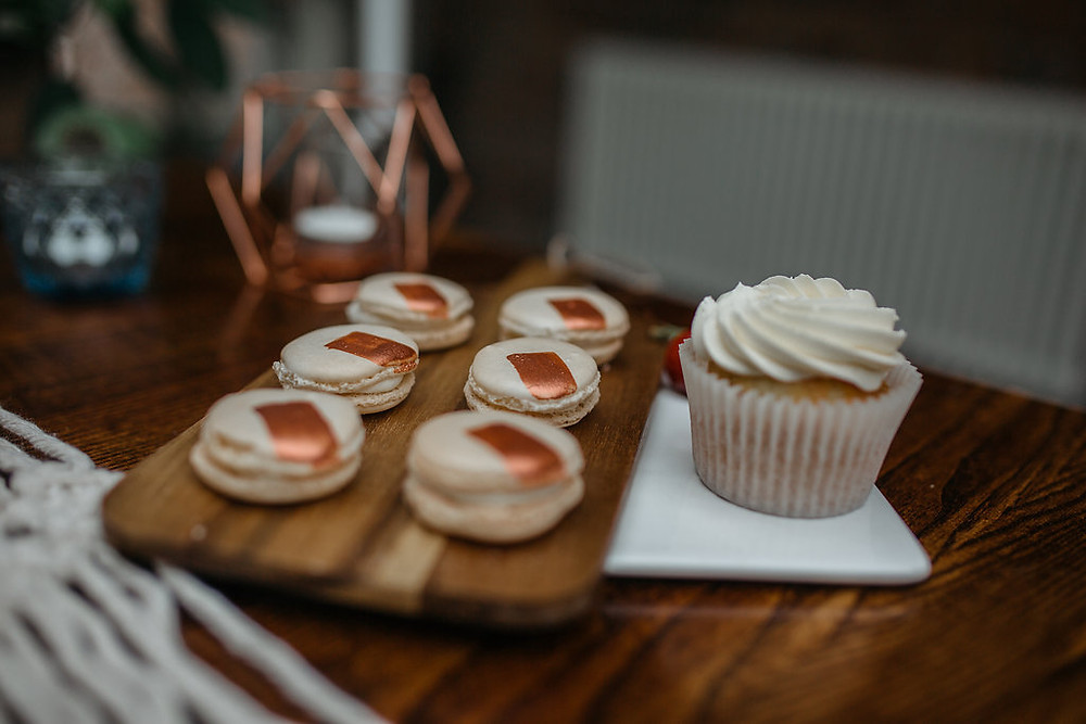 boho wedding table cake ideas