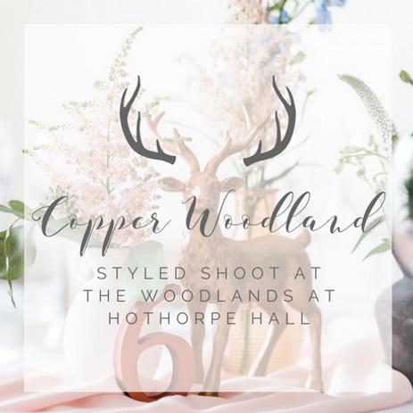 Woodland Wedding Inspiration Shoot