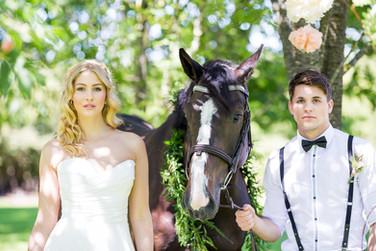 equestrian wedding style