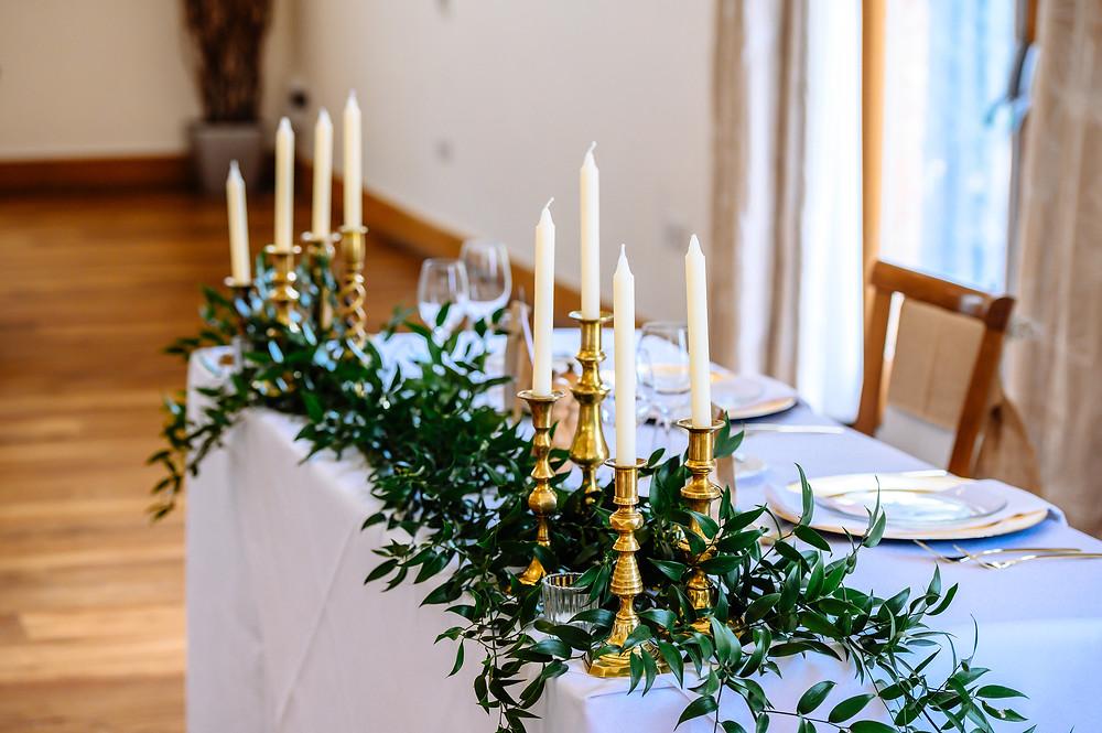 brass candlestick hire leicester
