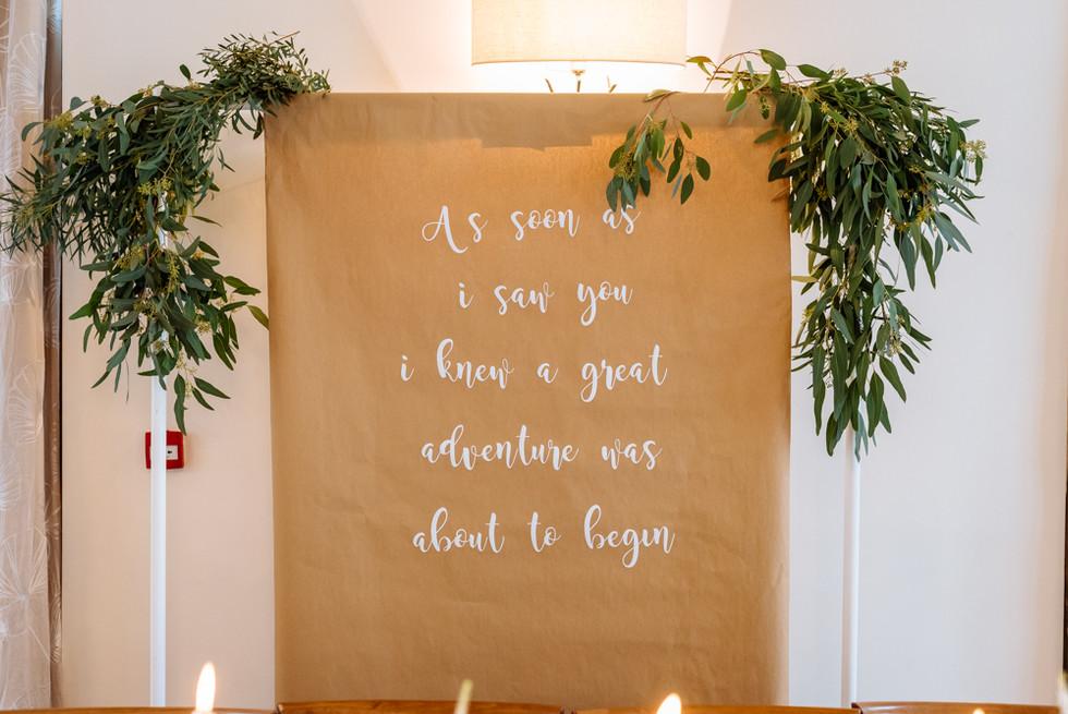 Mythe Barn Rustic Wedding Decor & Styling
