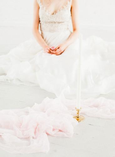 blush pink wedding