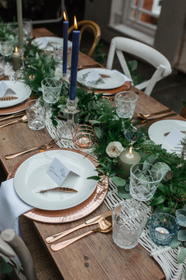 boho wedding styling prop hire