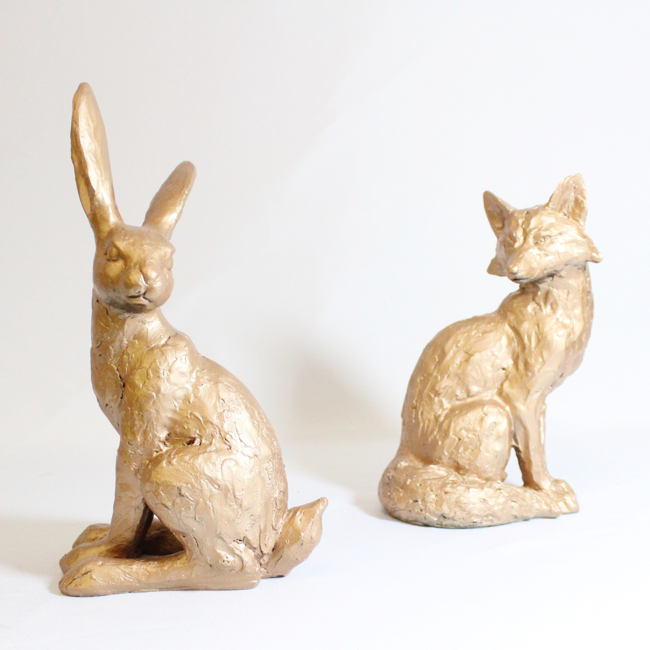 COPPER WOODLAND ANIMALS