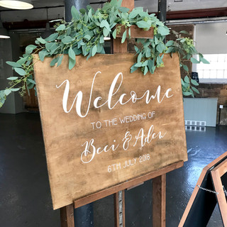 welcome sign at the west mill