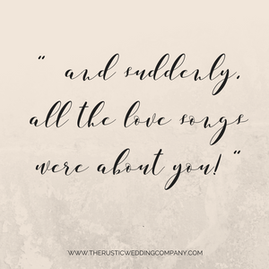 15 perfect love quotes for wedding signs