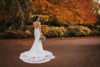 full lace wedding dress