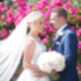bride and groom eckington manor
