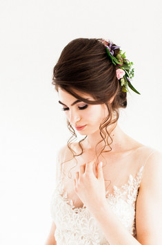 Beautiful wedding hair inspiration alison jenner