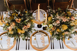 mustard wedding colour