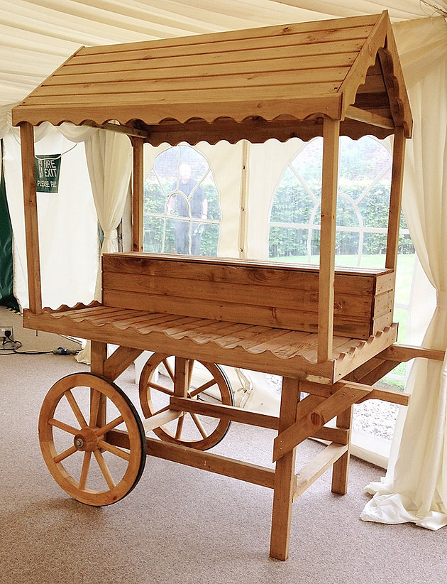 Introducing The Rustic Candy Cart