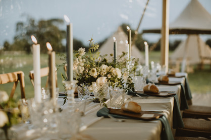 outdoor wedding ideas in the UK