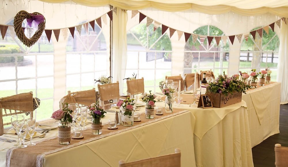 Rustic Top Table Decor Leicester