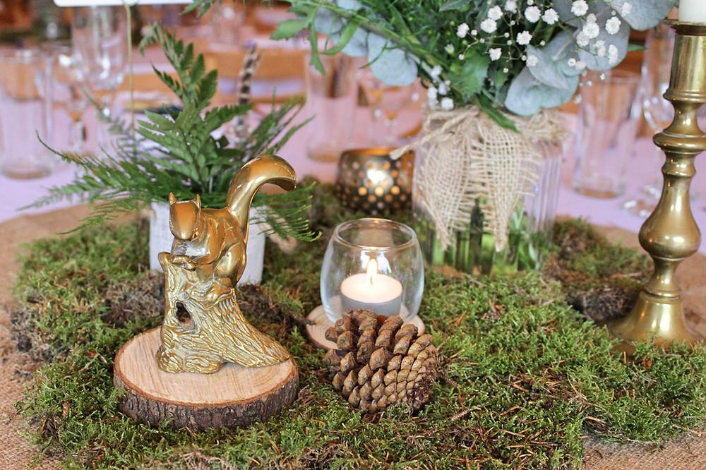 woodland tipi wedding leicester