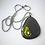 Thumbnail: Barbara Hepworth inspired fused glass pendant