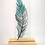 Thumbnail: Blue fused glass feather
