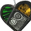 Thumbnail: Painted stained glass heart - colourful suncatcher