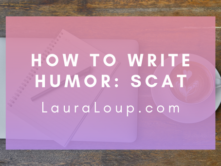 How to Write Humor: Scatological Jokes