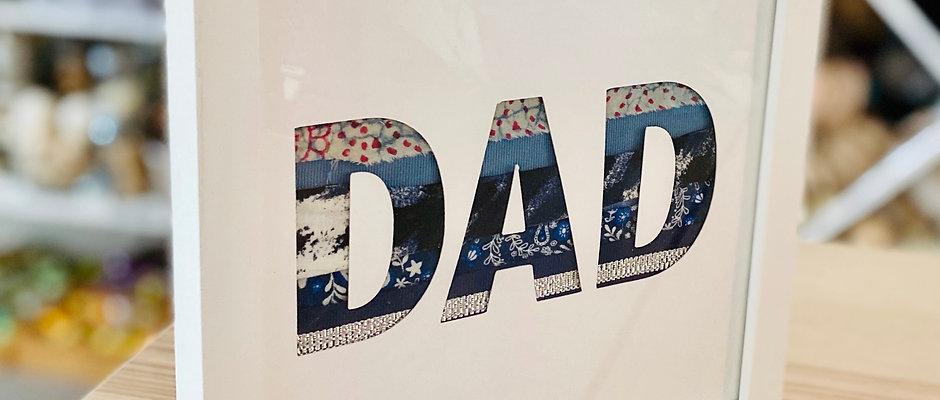 DAD Textile Collage