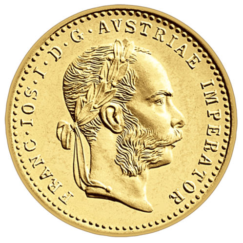 Mali dukat Franc Jozef - Münze Österreich