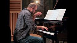 Scott Nicholas rehearsing