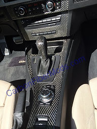 BMW Silver Reflections Center Console