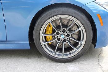 Custom Powder Coat BMW Brakes