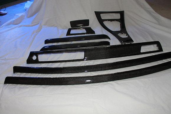 BMW E92 Carbon Fiber Trim 9 Piece set
