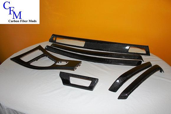 BMW E90 Carbon Fiber Trim 7 Piece Set