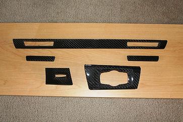 BMW Cup holder Trim carbon fiber