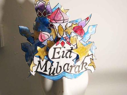Make an Eid celebration headdress